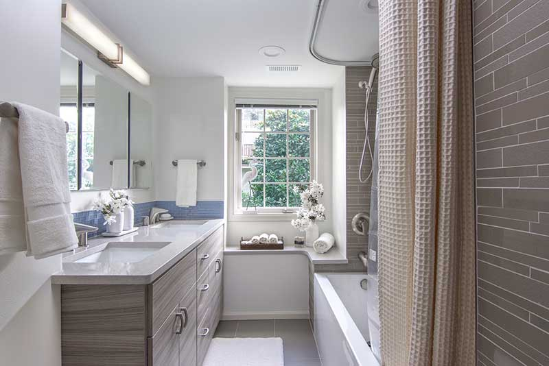 Fresh Updated Bathroom Before & After