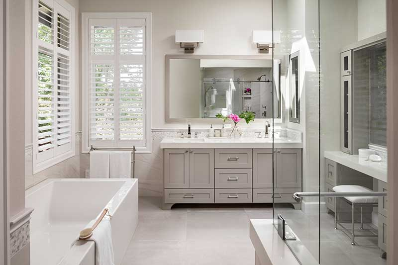 Modern Toscana Bathroom